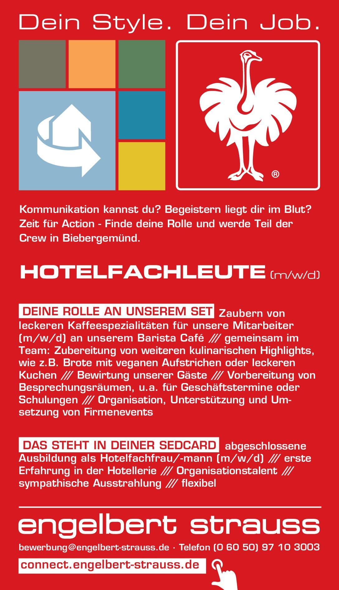 Hotelfachleute (m/w/d)