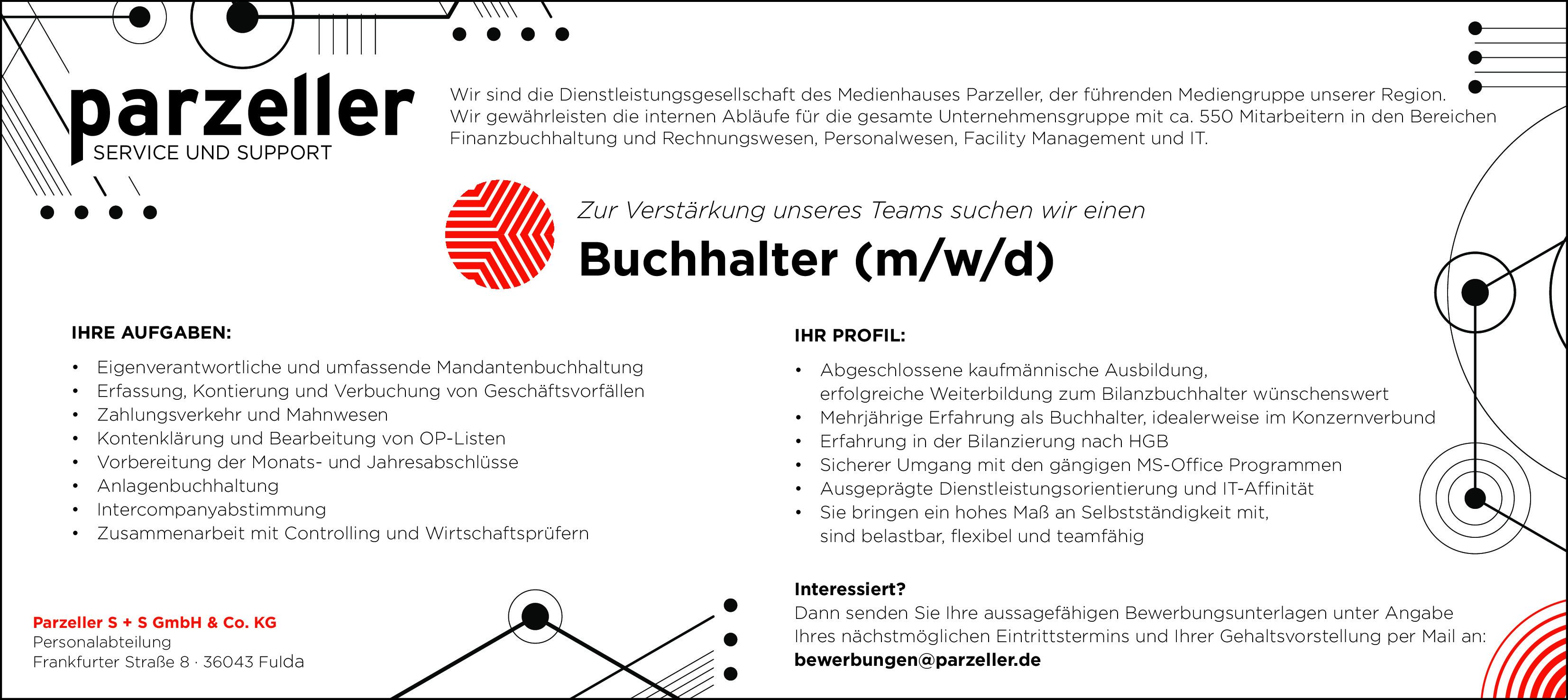 Buchhalter (m/w/d)