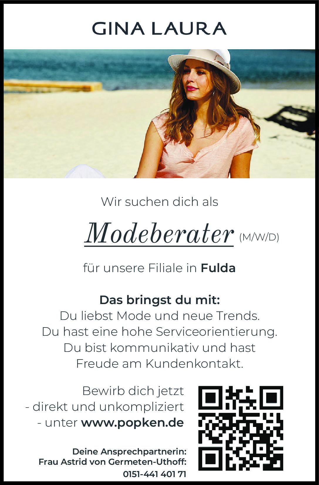 Gina Laura – Modeberater (m/w/d) Fulda