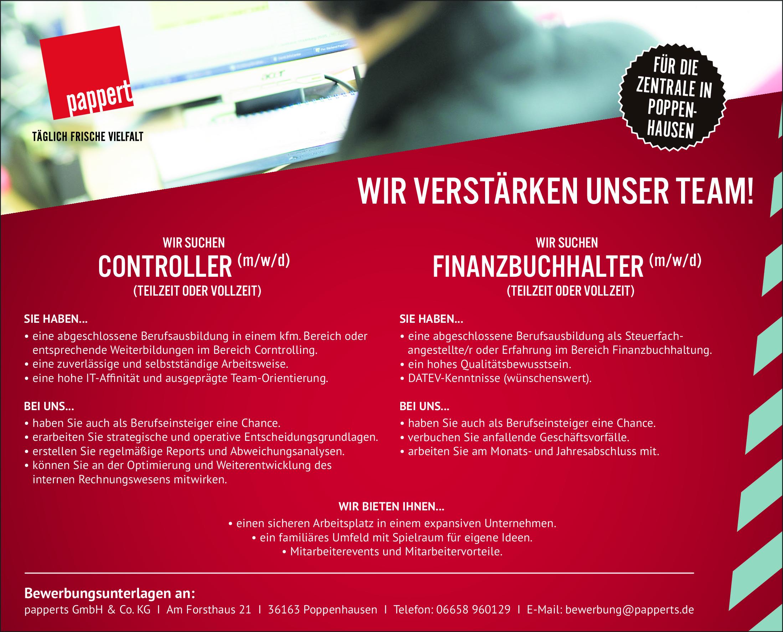Finanzbuchhalter (w/m/d) / Controller (w/m/d)