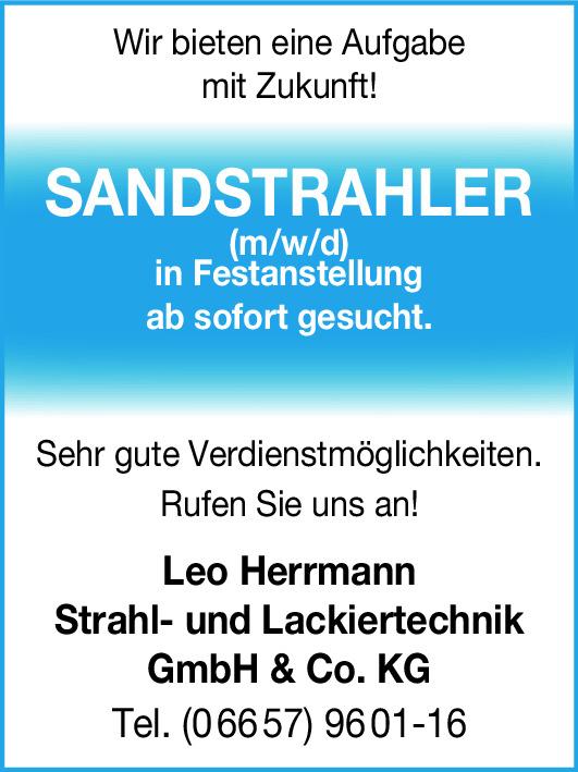 Sandstrahler (m/w/d)