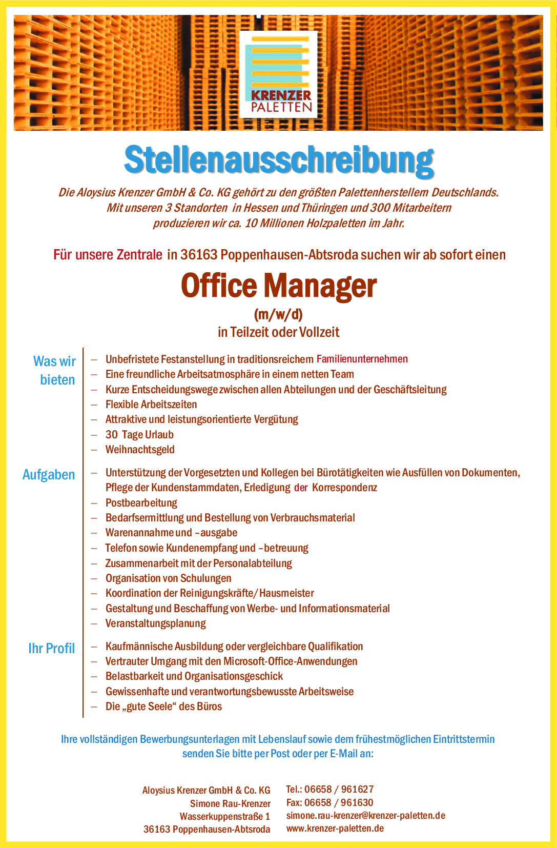 Office Manager (m/w/d)