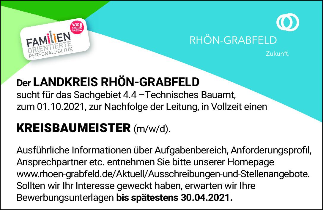 Kreisbaumeister (m/w/d)