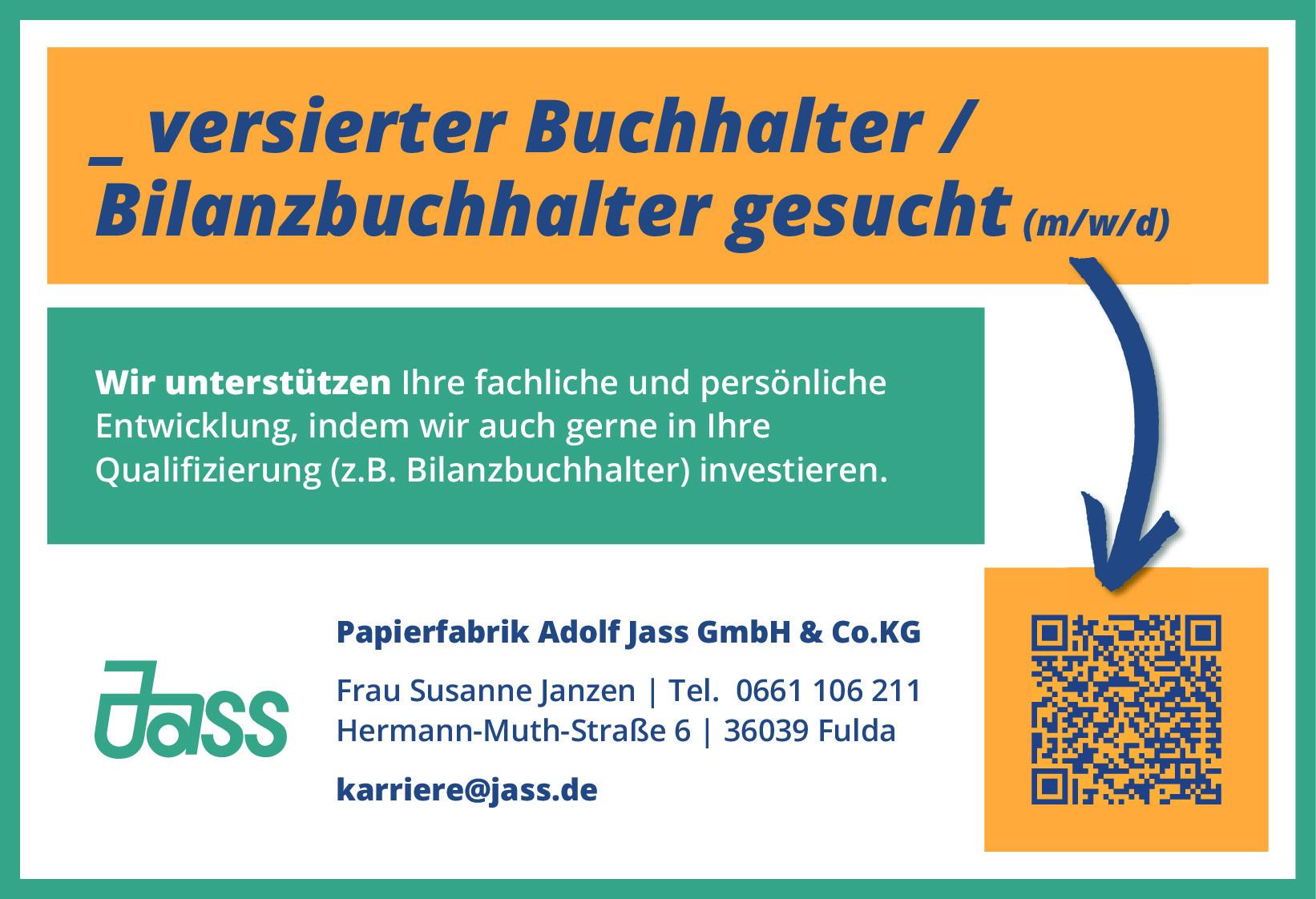 Buchhalter (m/w/d), Bilanzbuchhalter (m/w/d)