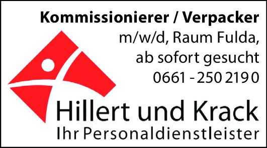 Kommissionierer / Verpacker (m/w/d)