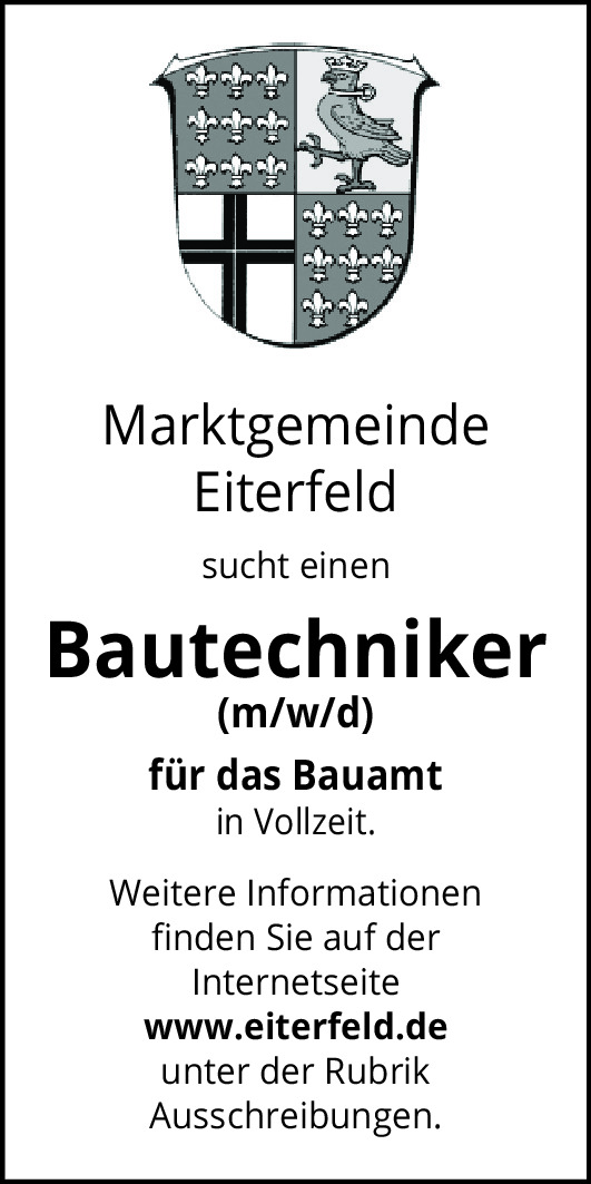 Bautechniker (m/w/d)