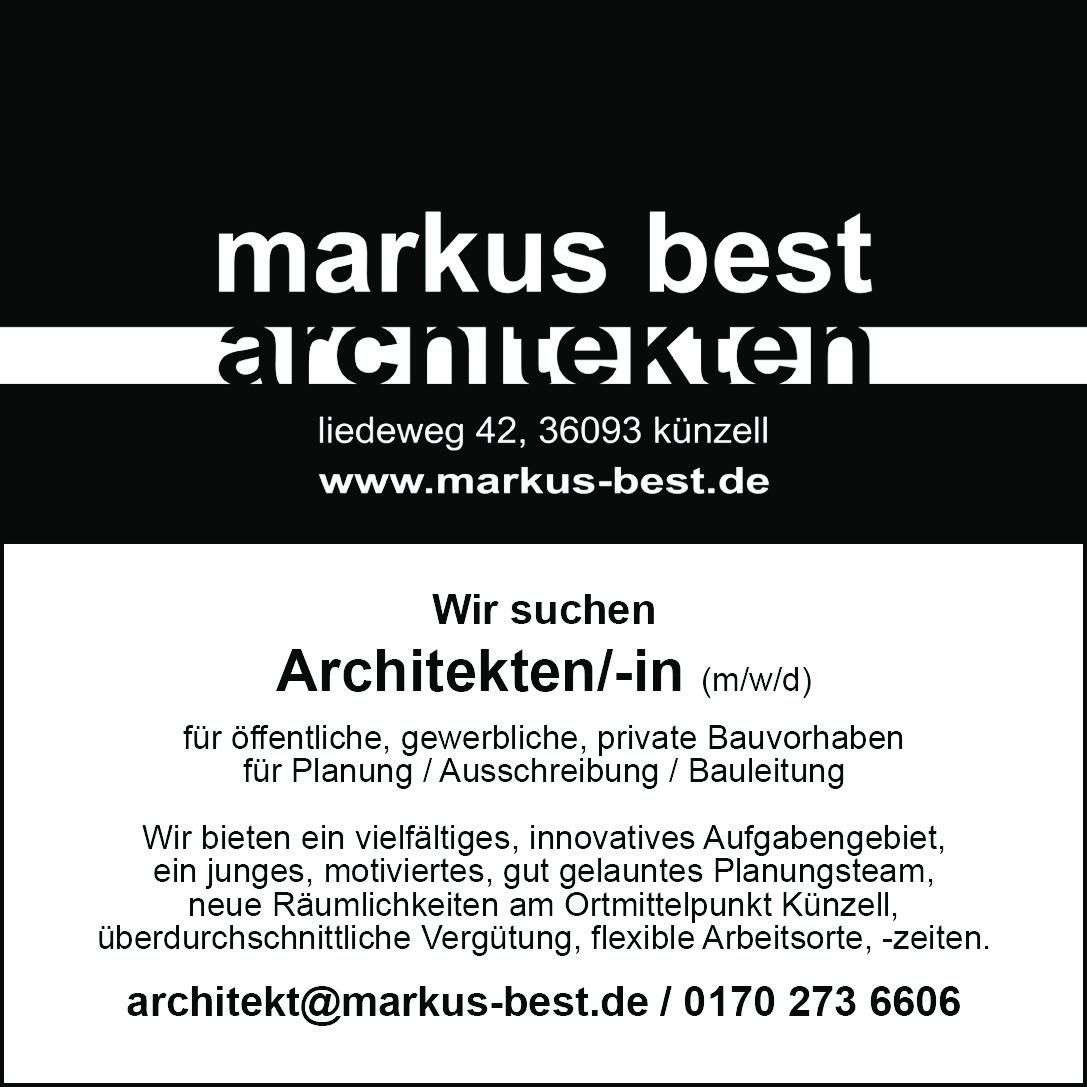 Architekten/-in (m/w/d)