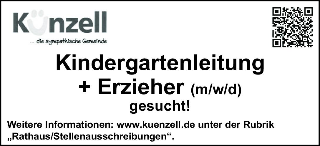 Kindergartenleitung + Erzieher (m/w/d)