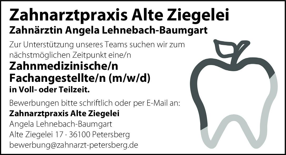 Zahnmedizinische/n Fachangestellte/n Voll-/ Teilzeit (m/w/d)