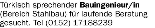 Bauingenieur/in (m/w/d)